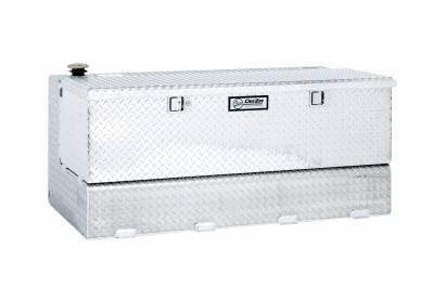 Combo Tanks - DeeZee Combo Tanks Aluminum - Dee Zee - DEE ZEE TOOL BOX-SPECIALTY TANK-COMBO BT ALUM (DZ91742)