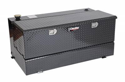 Combo Tanks - DeeZee Combo Tanks Aluminum - Dee Zee - DEE ZEE TOOL BOX-SPECIALTY TANK-COMBO BLACK BT (DZ91742B)