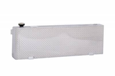 Rectangle Tanks - DeeZee Rectangle Tanks Aluminum - Dee Zee - DEE ZEE TOOL BOX-SPECIALTY TANK BT ALUM (DZ91752X)