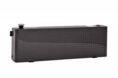 Rectangle Tanks - DeeZee Rectangle Tanks Aluminum - Dee Zee - DEE ZEE TOOL BOX-SPECIALTY TANK BLACK BT (DZ91752XB)