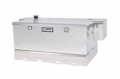 Combo Tanks - DeeZee Combo Tanks Aluminum - Dee Zee - DEE ZEE TOOL BOX-SPECIALTY TANK-COMBO WHITE STEEL (DZ91759)