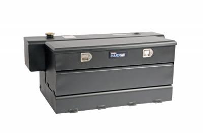 Combo Tanks - DeeZee Combo Tanks Aluminum - Dee Zee - DEE ZEE TOOL BOX-SPECIALTY TANK-COMBO BLACK ALUM. (DZ91759SB)