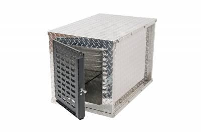 Misc. Utility - DeeZee Utility Boxes - Dee Zee - DEE ZEE TOOL BOX-SPECIALTY DOG BOX BT ALUM (DZ91782)