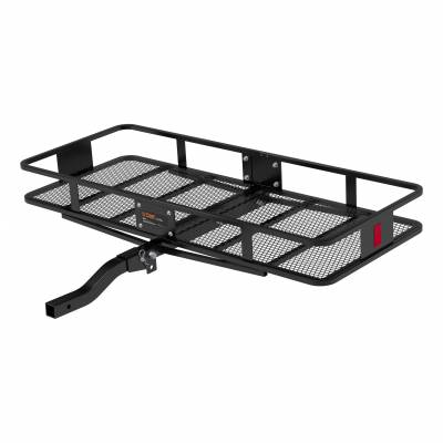 Misc. - Curt Misc. Hitch Access. - CURT - CURT BASKET-STYLE CARGO CARRIER (18153)
