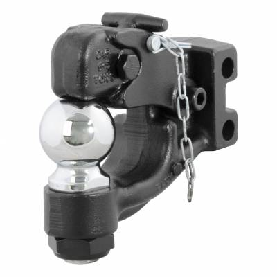 Balls - CURT Balls - CURT - CURT CHANNEL-MOUNT BALL & PINTLE COMBINATION (45920)