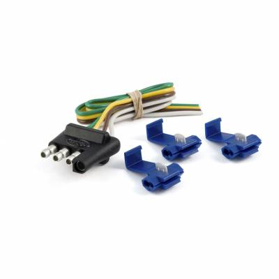 Electrical - Curt Electrical - CURT - CURT 4-WAY FLAT WIRING CONNECTOR KIT (58033)