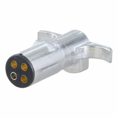 Electrical - Curt Electrical - CURT - CURT 4-WAY ROUND PLUG, TRAILER END (58061)