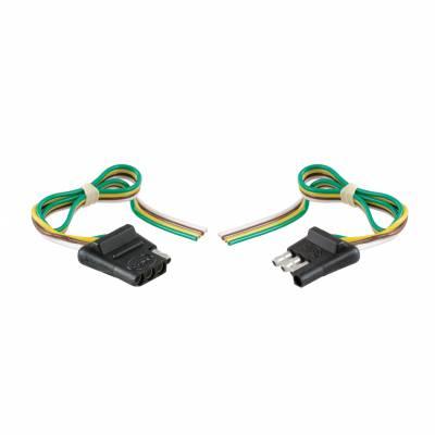 Electrical - Curt Electrical - CURT - CURT 12 CAR END/ 12 TRAILER END (58304)