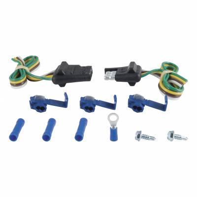 Electrical - Curt Electrical - CURT - CURT 12 CAR END/ 12 TRAILER END KIT (58344)