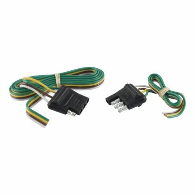 Electrical - Curt Electrical - CURT - CURT 48 CAR END/ 12 TRAILER END, FOR USE ON VEHICLES WITH 2-WIRE SYSTEM (58355)