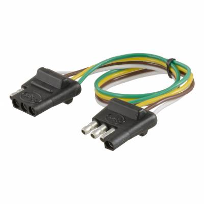 Electrical - Curt Electrical - CURT - CURT 4-WAY BONDED 12 BONDED LOOP, CAR & TRAILER END, PACKAGED (58381)