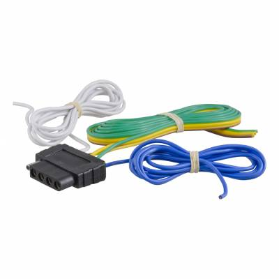 Electrical - Curt Electrical - CURT - CURT 5-WAY FLAT BONDED WIRING CONNECTOR (58530)