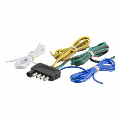 Electrical - Curt Electrical - CURT - CURT 5-WAY FLAT BONDED WIRING CONNECTOR (58540)