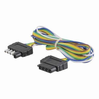 Electrical - Curt Electrical - CURT - CURT 5-WAY FLAT CONNECTOR (58551)