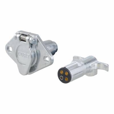 Electrical - Curt Electrical - CURT - CURT 4-WAY ROUND WIRING CONNECTOR (58671)