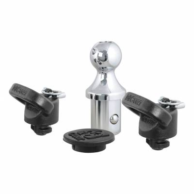 CURT - CURT OEM-COMPATIBLE GOOSENECK BALL & SAFETY CHAIN ANCHOR KIT FOR RAM (60618) - Image 5