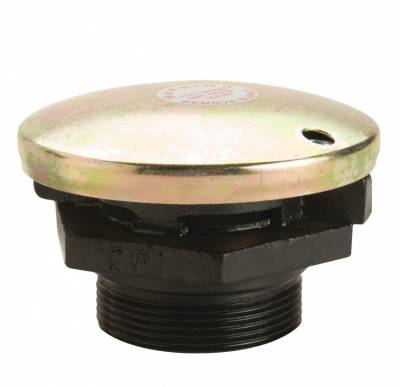 Misc. - GPI Pump Access. - GPI - Pressure vent cap with 2-inch NPT cast iron base for vented fuel storage tank, 3 PSIG pressure valve, 1 PSIG vacuum release, up to 30 GPM