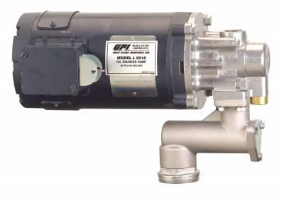 Pumps - GPI Pumps - GPI - GPI L5016 OIL PUMP 142100-03 HIGH VISCOSITY OIL PUMP, 4 GPM, 12 VDC, CENTER BASE