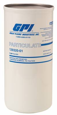 Meters - GPI Meters - GPI - P-40-30-1.5 particulate filter, 40 GPM/151 LPM, 30 micron, 1.5 - 16 UNF.
