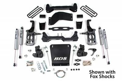 "BDS - BDS Suspension Lift Kit - 4.5"" Lift  2011-2019 GM 2500/3500    -2WD/4WD -  (719H)"