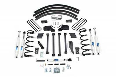 BDS - BDS Suspension Lift Kit - 4.5in Front/4.5in Rear Block & AAL w/o Overload (211H)