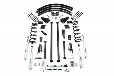 BDS - BDS Suspension Lift Kit - 4.5in Front LA /4.5in Rear Block & AAL w/o Overload (213H)