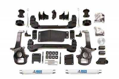 "BDS - BDS  4"" LIFT KIT  2013-2018 RAM 1500 W/OUT AIR RIDE  4WD  (670H)"