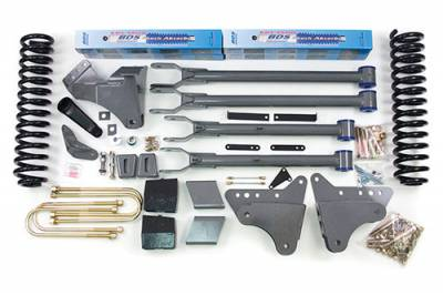 "Lifts - BDS Lifts - BDS - BDS  4""  4-LINK LIFT KIT  2005-2007  F250 / F350  4WD  (345H)"