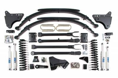 "Lifts - BDS Lifts - BDS - BDS  4""  4-LINK  2008-2010  F250 / F350  4WD  (548H)"