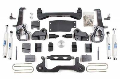 BDS - BDS Suspension Lift Kit - 4in Front/2in Rear Block (672H)