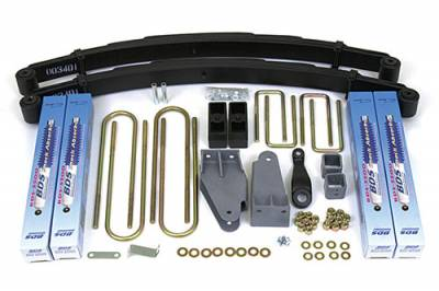 "BDS - BDS Suspension Lift Kit - 4"" Suspension Lift Kit - Ford F250/F350 4WD TTB (306H)"