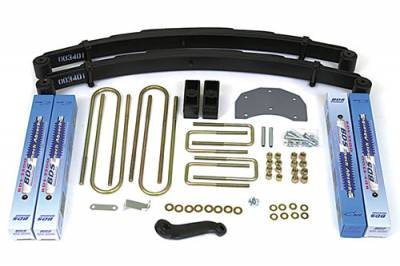 "BDS - BDS Suspension Lift Kit - 4"" Suspension Lift Kit - Ford F350 Monobeam 4WD (308H)"
