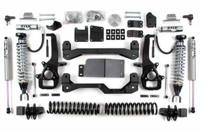 BDS - BDS Suspension Lift Kit - 6in Front C/O /3in Rear Spacer (671F)