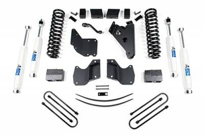 BDS - BDS Suspension Lift Kit - 6in Front/5.5in Rear Block & AAL (518H)