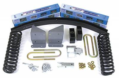 BDS - BDS Suspension Lift Kit - 6in Front/5.5in Rear Block & AAL Kit (376H)