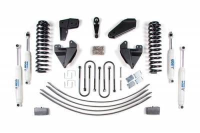 BDS - BDS Suspension Lift Kit - 6in Front Std Cab/4in Rear Block & AAL -2WD-  (399H)