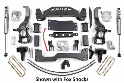 "BDS - BDS  6"" LIFT KIT  2004-2008  F150  4WD  (574H)"
