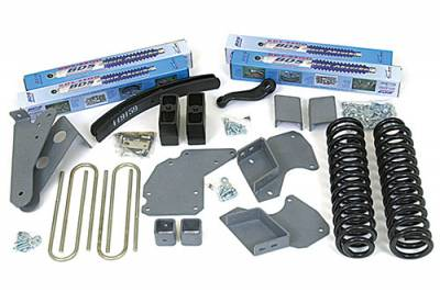 BDS - BDS Suspension Lift Kit - 4in Front/3.5in Rear Block & AAL (516H)