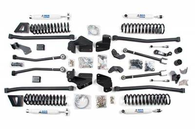 "BDS - BDS Suspension Lift Kit - Gen 1 6-1/2"" Long Arm Lift Kit - Jeep Wrangler JK 4dr (494H)"