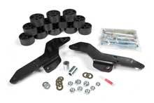 Body Lifts - Zone Body Lifts - Zone - ZONE  1.5in Body Lift  2007-13 Chevy Avalanche
