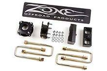 """Lifts - Zone Lifts - Zone - Zone 3"""" Suspension Lift Kit (ZONT1310)"""