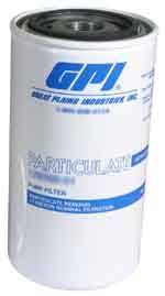 Pump Access. - Filters - GPI Filters