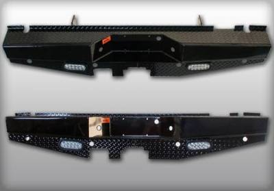 Bumpers - Rear - Roughneck Rear Bumpers