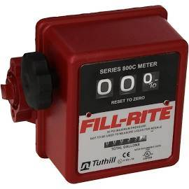 Pumps - Fill Rite Pumps - FillRite - FillRite 3-wheel mechanical fuel transfer meter  5-20 GPM      (807C)
