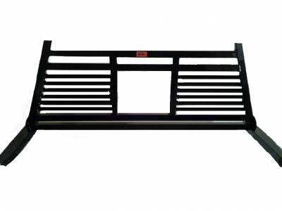 Short Angle - Roughneck 1 Piece Short Angle Rack - Roughneck - Roughneck Headache Rack 1 Piece Welded Short Angle Split Louver (BHRSASL-F150)