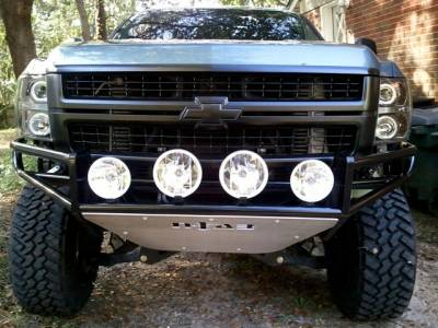 Front - Nfab Front Bumpers - N-Fab - N-Fab Bumpers (C084RSP-TX)