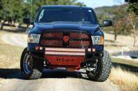 N-Fab - NFAB  RSP PreRunner Front Bumper, Direct Fit LED, Textured Black