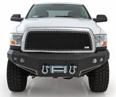 Front - Nfab Front Bumpers - N-Fab - N-Fab Bumpers (D10FWB)