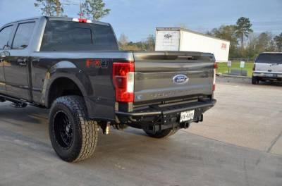 Rear - Nfab Rear Bumpers - N-Fab - N-Fab Bumpers (F17RBS-H-TX)