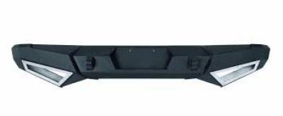 Rear - Nfab Rear Bumpers - N-Fab - NFAB  RB Rear Bumper, Rear Heavy Duty Bumper, Textured Black